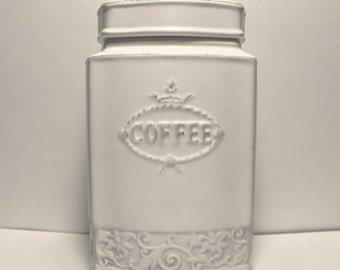 Vintage Coffee Jar