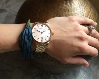 Threaded bliss bracelet