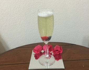 Scented Champagne Gel Candle