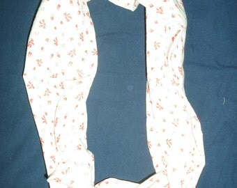 white with red bows infinity scarf