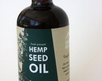 Small House Hemp Oil - 4oz Bottle