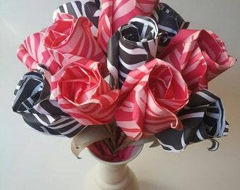 Pink Zebra Bouquet