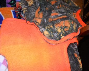 Safety Orange Camo Neckwarmer