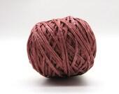 Habu Silk Gima - Beni Red / Silk Tape Yarn / Silk Thread / Warp Yarn / Luxury Yarn / Habu Yarn / Knitting / Crochet / Yarn for Weaving / A22