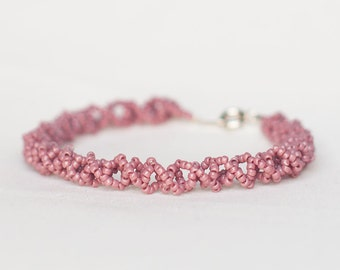 Beautiful Old Pink Sweet Bracelet
