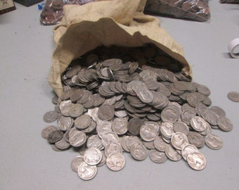 Full Date Buffalo Nickels 1913-1938