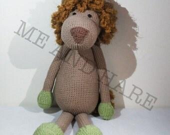 Crochet Lion - Leo Lowie