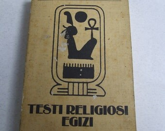 Egyptian religious texts by Sergio Donadoni first edition TEA 1988
