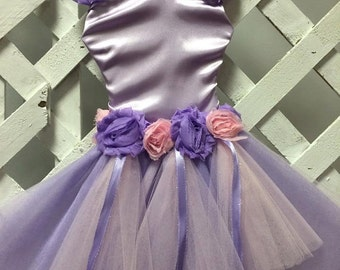 Pink and Purple Tutu Bow Holder Nursery Decor