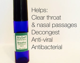 Breathe Alergy Relief Aromatherapy Roll On, sinus relief, allergy relief