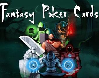 Fantasy Styles Poker Cards