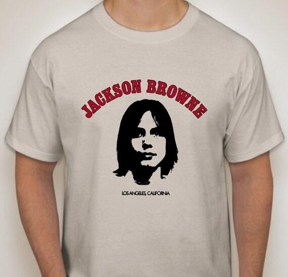 Jackson browne los angeles california t shirt by for Los angeles california shirt