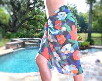 Swimsuit wrap, Beach sarong, Boho wrap, beach wrap, beach cover up, beach shawl, summer wrap, bikini wrap, bathing suit wrap, beach wear