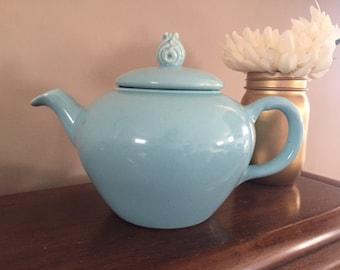 Antique Blue Tea Pot