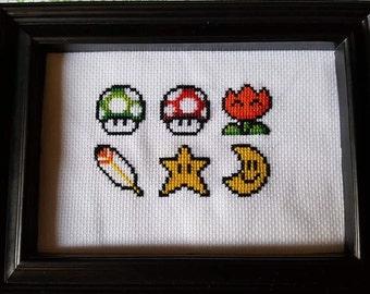 Super Mario Nintendo Cross Stitch