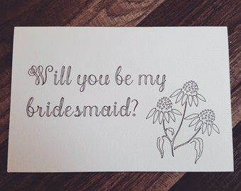Will You Be My Bridesmaid  (Set of 3)