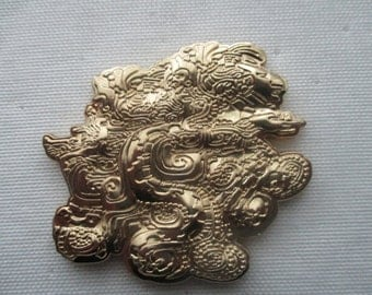 Quetzalcoatl Digitribe Hat Pin By SSIK (Free Shipping)
