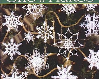 99 snowflakes crochet book