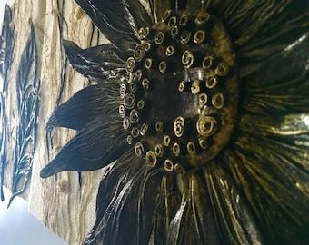 3 Pieces Wall Decor Sunflower