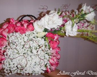 Unique Gift - flower purse