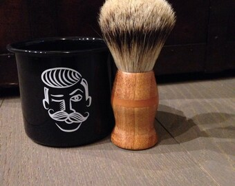 Shave brush made in Italy