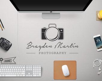 Premade Photographer Logo Design,Premade Logo, Photography Logo, Business Branding, Logo design, Watermark. #038. BUY 2 and GET 1 FREE!