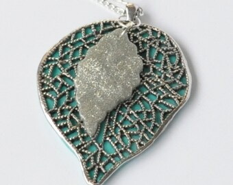 Sping Pendant, Jewelry, Leaf