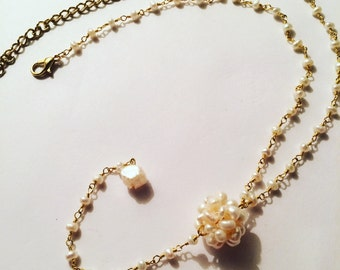 The Pearl Dainty Dee Necklace