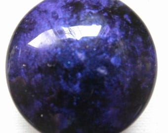 Custom made One of a Kind Furniture and Cabinet Knobs-Deep purple and Black