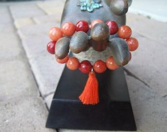 Tasseled Yoga Bracelet