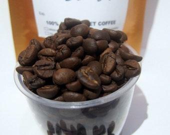 0.44lb / 200grams Robusta Civet Coffee Roasted Beans - Wild Pure Indonesia Fresh Kopi Luwak