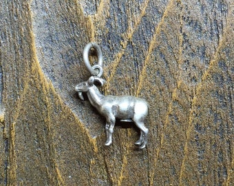 Billy Goat Silver 925 Charm- Free Shipping within USA