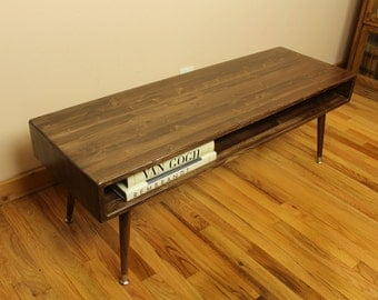 Mid Century Modern Coffee Table 16x48