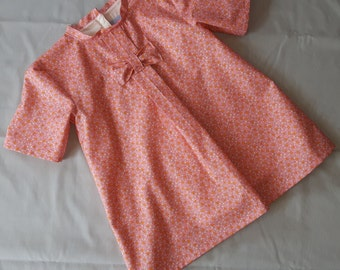 Baby dress - Orange Bubbles