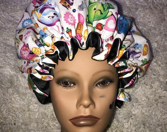 Shopkins Satin Bonnet