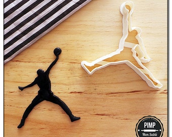 Cookie Cutter Jordan / Set fondant