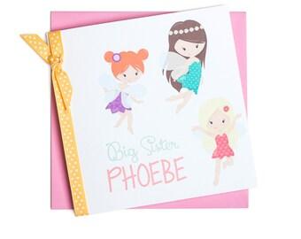 Personalised Fairy Card