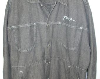 PHAT FARM Men's Denim Jacket XXL