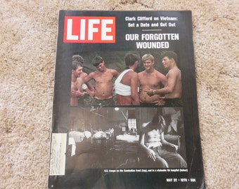 LIFE magazine May 22, 1970 Our Forgotten Wounded
