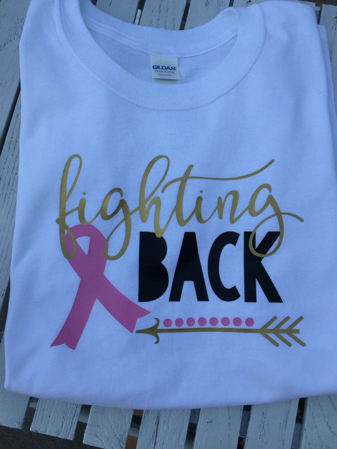 Fighting back breast cancer shirt for Breast cancer shirts ideas