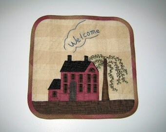 Welcome Wall Hanging