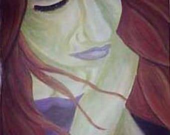 Beaten, pastel on paper, 16x20