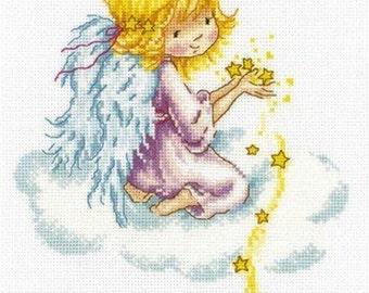 "Counted Cross Stitch Kit ""Star Angel"" RTO"