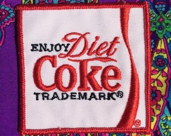 FREE SHIPPING Vintage Diet Coke Patch