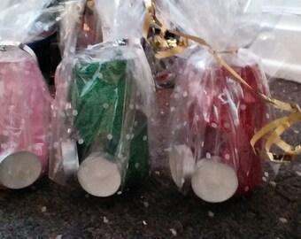 Glitter candle jars ...cute gift
