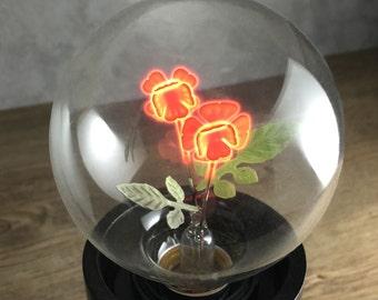 DarkSteve - Rose - Designer Light Bulb - Vintage Style G80 E26 or E27 Screw Filament Decorative Light Bulbs  #1 Unique Gift