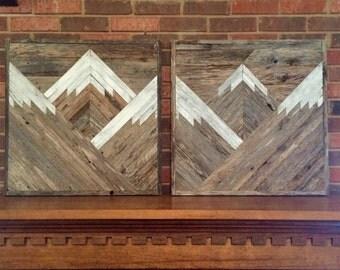 Reclaimed Wood Wall Art reclaimed wood wall art | etsy
