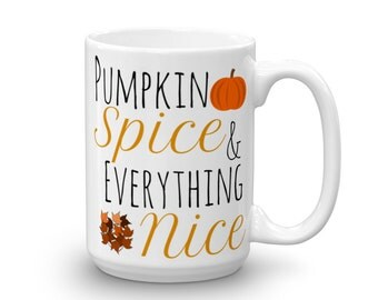 Autumn Coffee Mug 11 oz & 15 oz, Unique Gift for Her - Fall Birthday