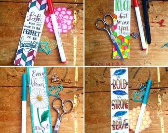 Encouragement Printable Bookmark Bundle- 6 for the price of 5