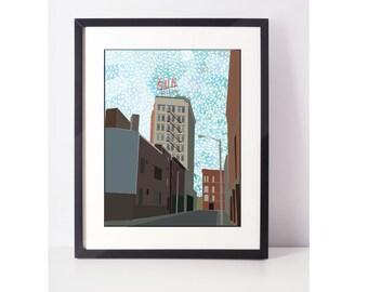 LoweLLIsh: Giclee Print, Art Print, Wall Art, Pop Art, Wall Decor